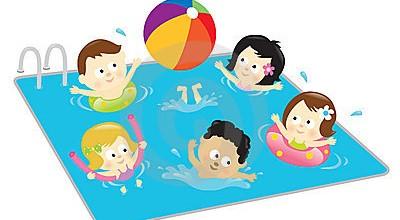 Kids Swimming Clipart Kids Having Fun Pool 13682523 Jpg