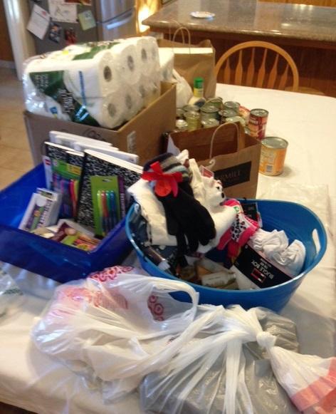 Clovis/Clovis East Donations Collected